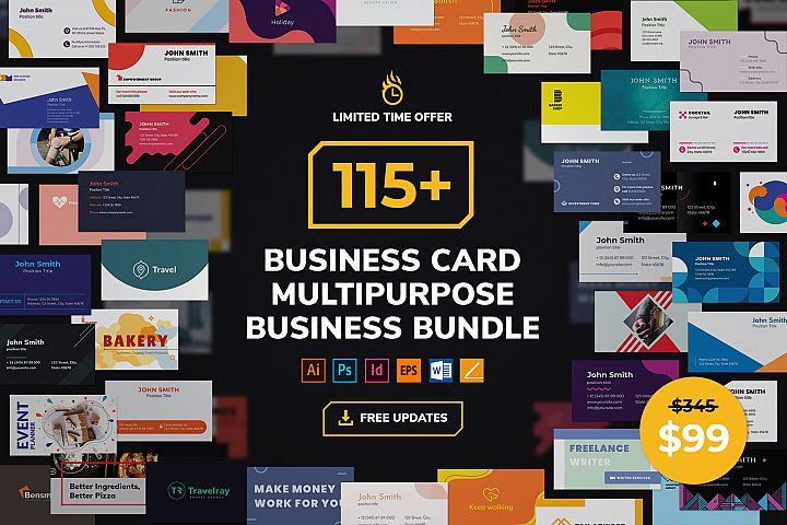 Business Card Templates Bundle SALE