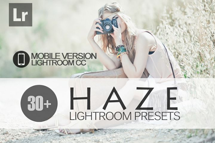 30 Haze Lightroom Mobile bundle Presets