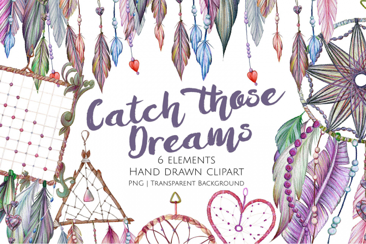 Catch Those Dreams Graphics and Clipart