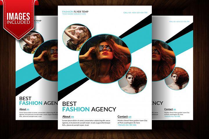 Fashion Agency Flyer Templates