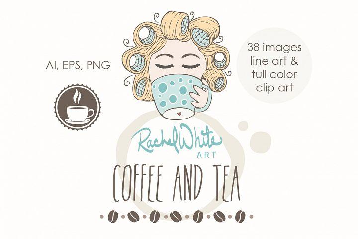 Coffee & Tea - Free Design of The Week Design0