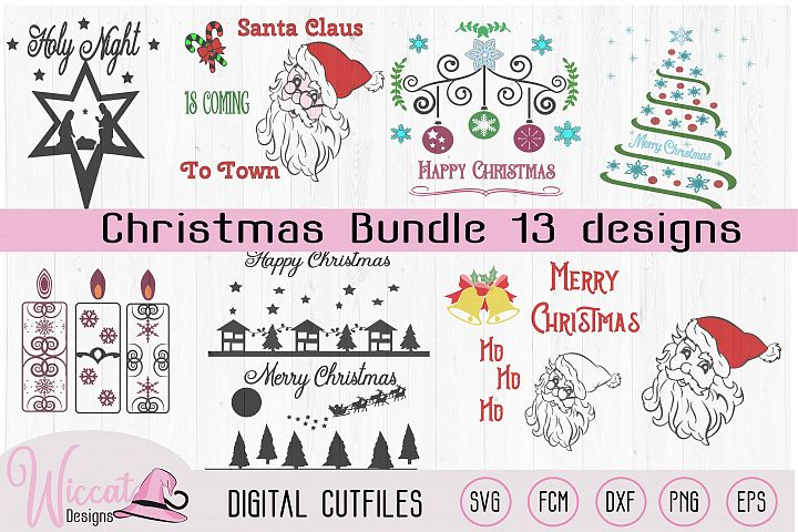 Christmas bundle, various desins