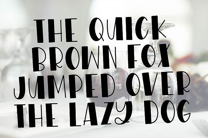 WildNight - A Hand Lettered Shimmery Font Duo example image 3