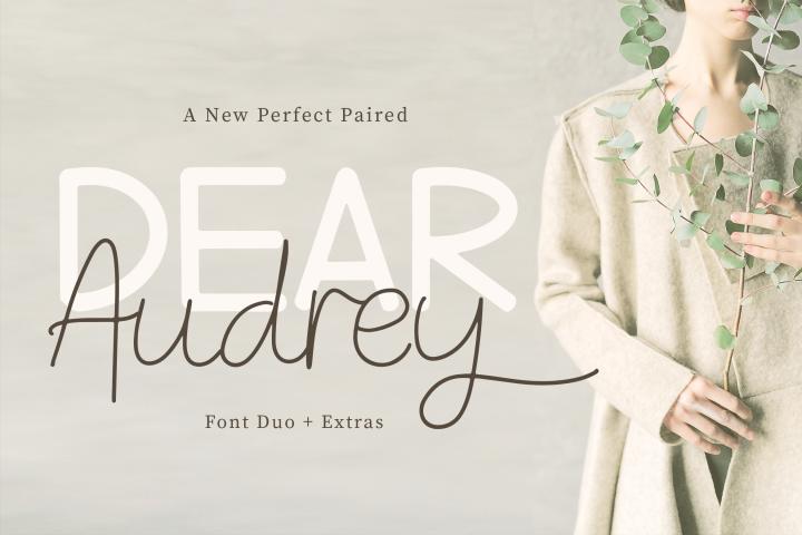 Dear Audrey - Font Duo