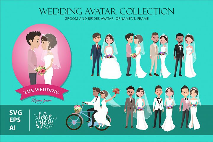 Wedding Avatar Collection