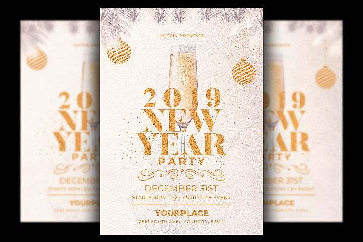 New Year Flyer | Invitation Template