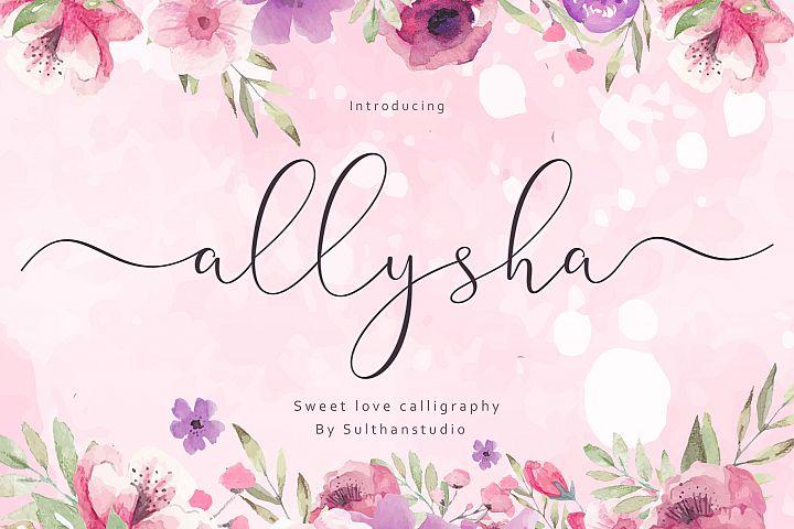 allysha script