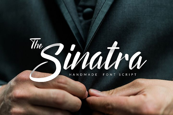 The Sinatra - Handmade Font Script