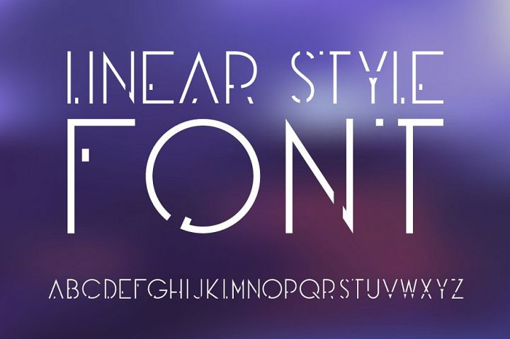 Futuristic OTF font. Uppercase only!