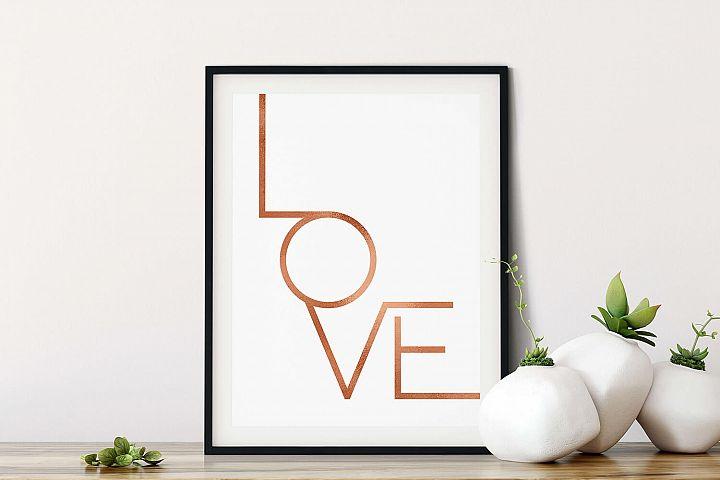 Love, Printable Wall Art