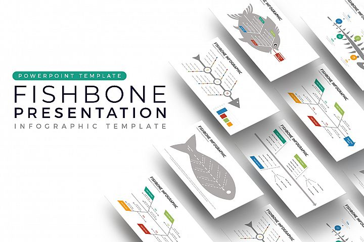 Fishbone Presentation - Infographic Template