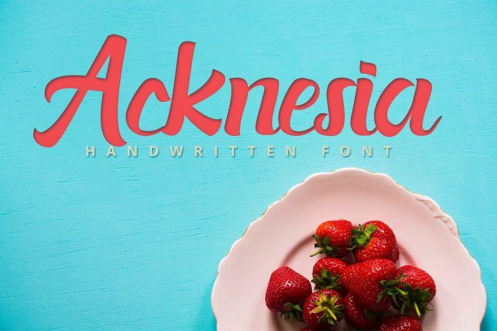 Acknesia