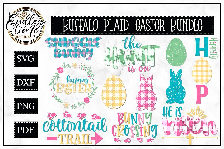 Buffalo Plaid Easter Bundle - A Hoppy Little Bundle