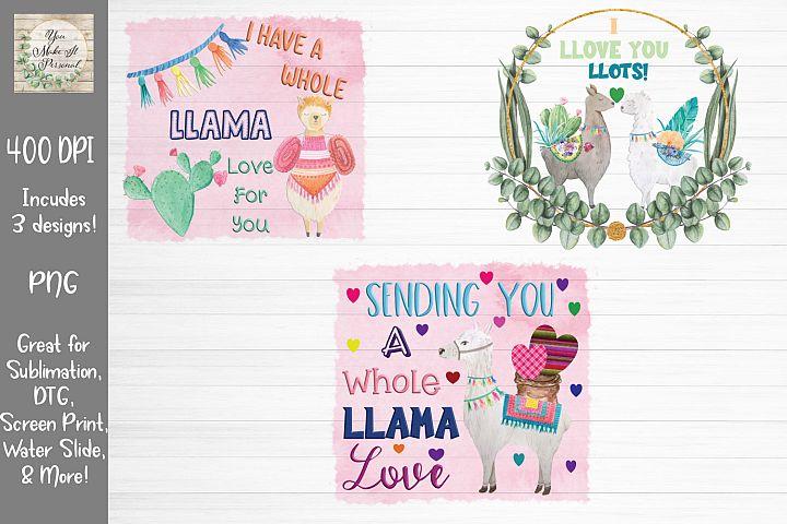 Llama Love Set, Llama Bundle