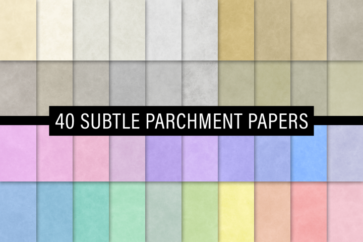 Subtle Parchment Papers