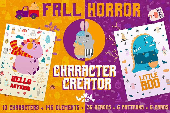 Character creator - Fall holidays