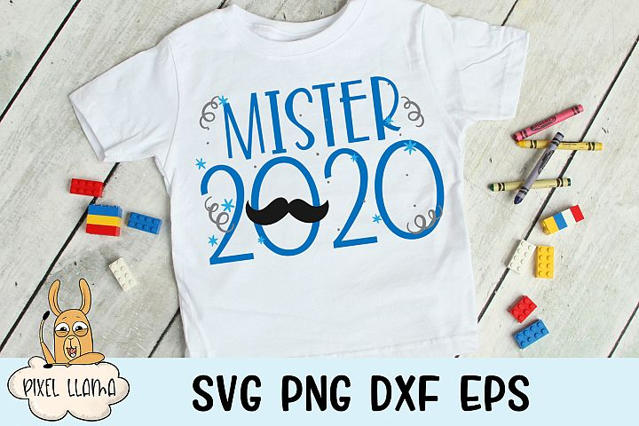Mister 2020 New Years SVG