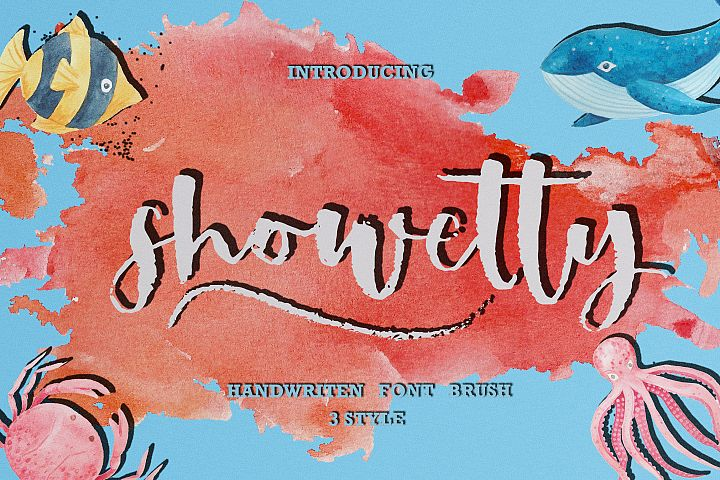 Showetty Brush Script  40 Off