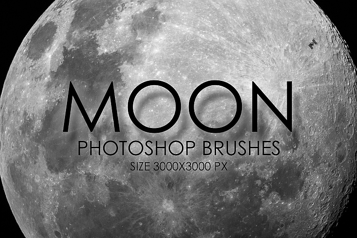 8 High Quality Moon Brushes