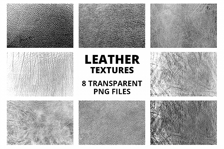 Leather Transparent Textures