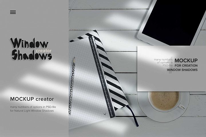 MockUp Window Shadow creator