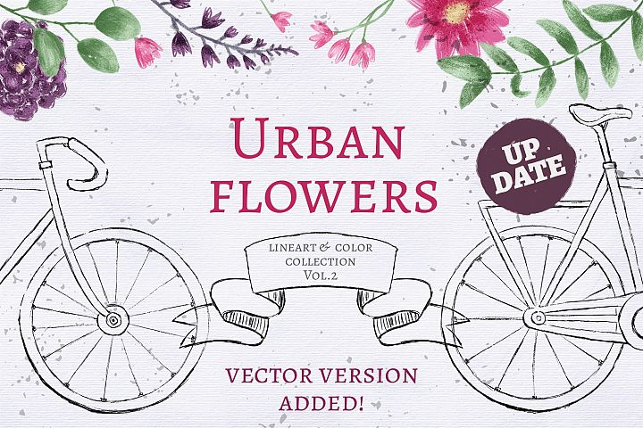 Urban Flowers Collection Vol. 2