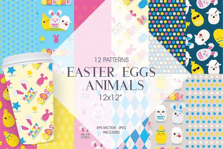 Easter Egg Animals