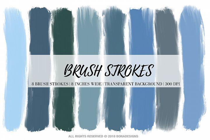 Brush Strokes, Digital Brush Strokes