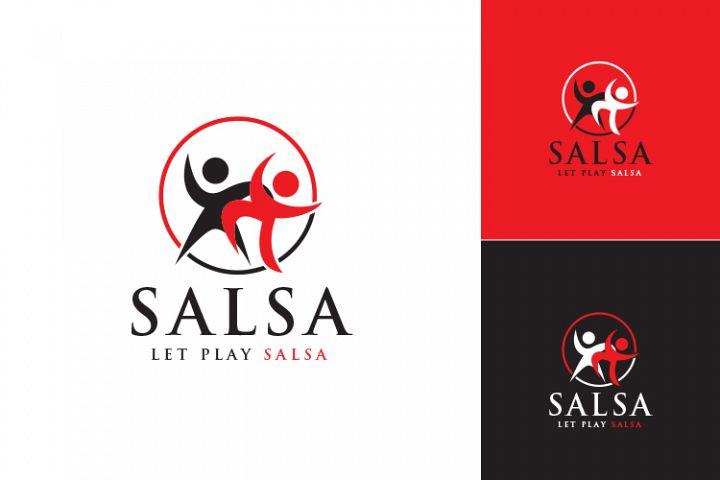 Salsa Logo Template