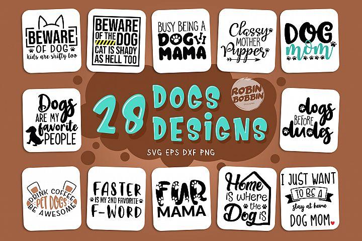 Dogs SVG Bundle - Dog Quotes SVG Bundle