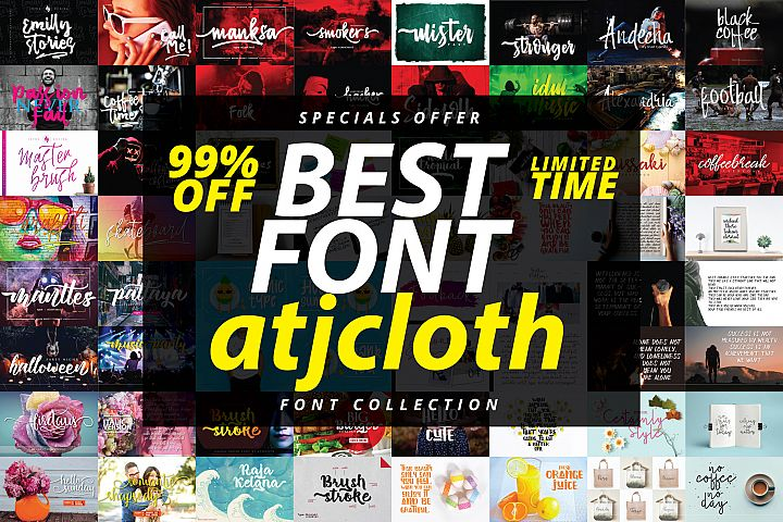 Best Font Collection - Limited Time