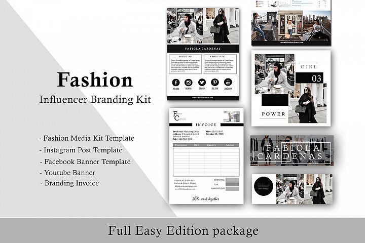 Fashion Influencer Branding Kit Complete