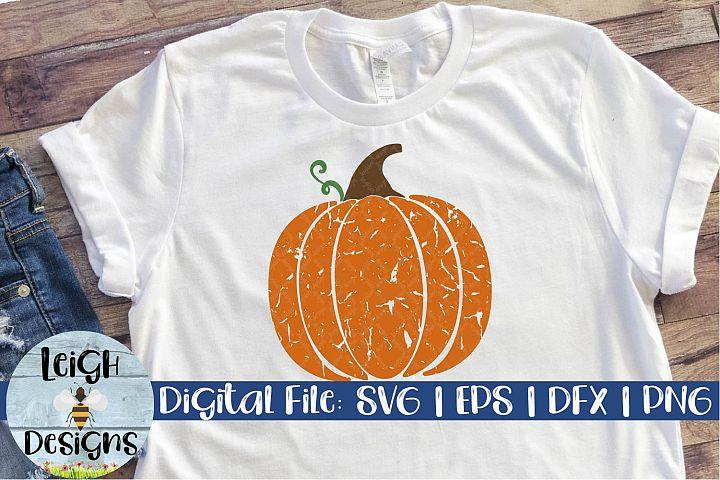 Grunge Pumpkin Digital Design