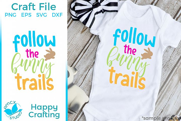Follow the bunny- Easter Craft File