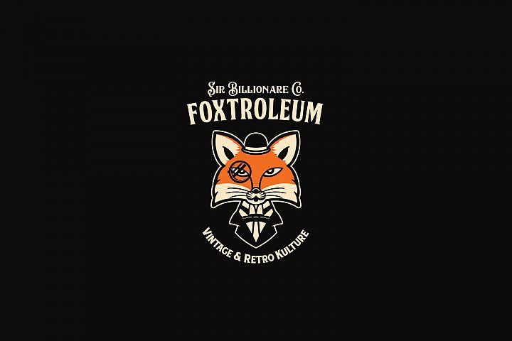 Foxtroleum Logo Template