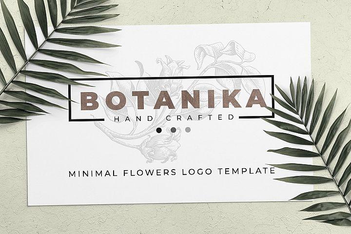 Stilysh logos template - blossom