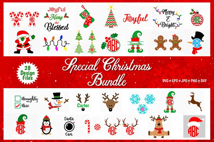 special Christmas svg bundle