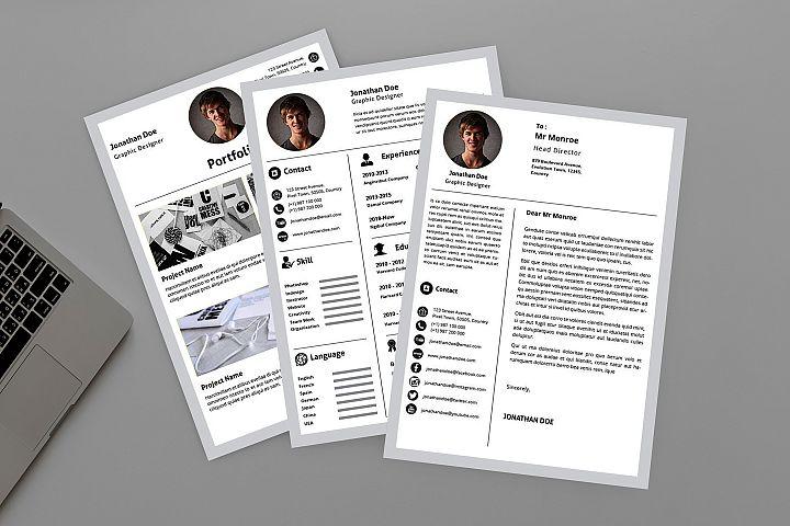 Minimalist Clean Resume Designer