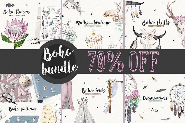 BOHO BUNDLE 70 OFF