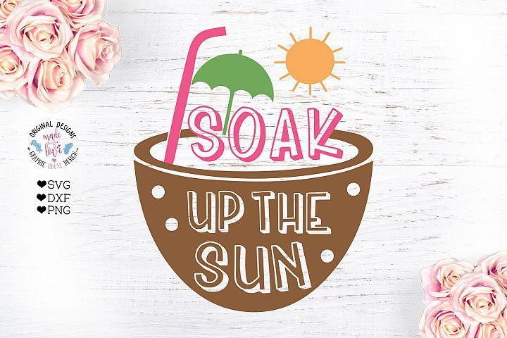 Soak Up the Sun - Summer Cut File