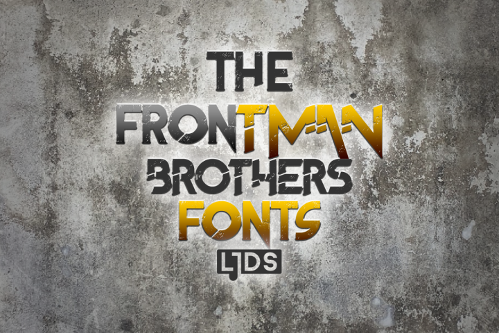 The Frontman Fonts