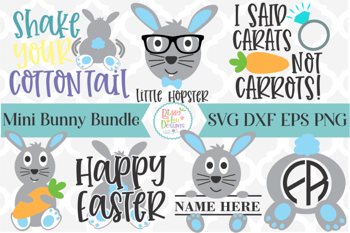Easter Bundle I Bunny SVG Bundle I Easter SVG I Rabbit SVG