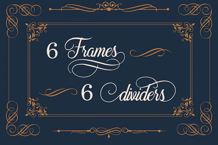 Beradon Script - Elegant Wedding font - Free Font of The Week Design6