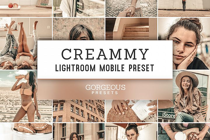 Mobile Lightroom Preset CREAMMY