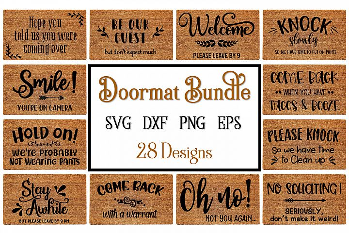 Doormat Svg Bundle, Doormat Svg Designs, DIY Doormat