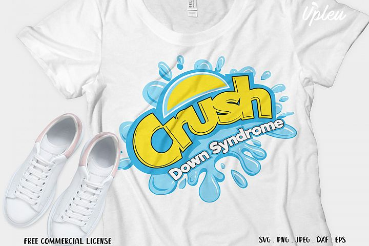 Crush Down Syndrome SVG