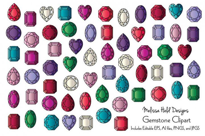 Gemstone Clipart