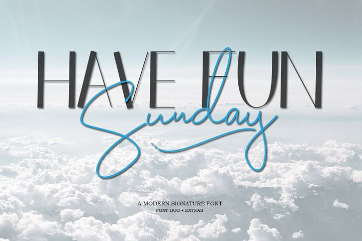 Have Fun Sunday - Font Duo