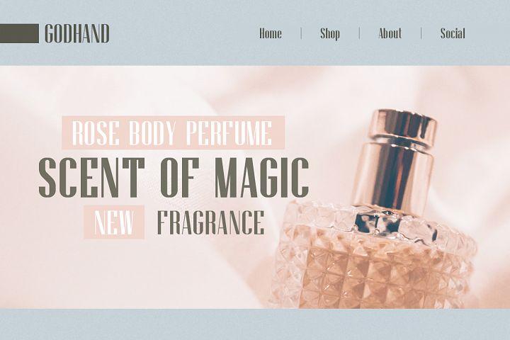 Godhand Athens   Elegant Font Duo example image 5