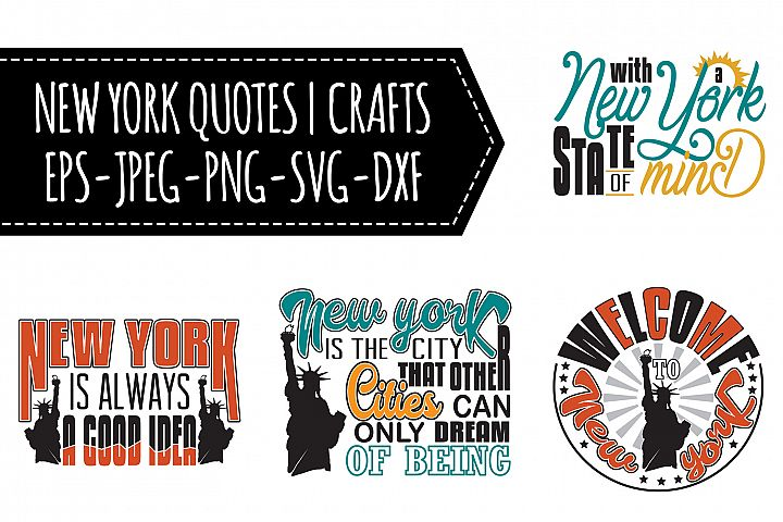 16 New York Quotes | Crafts